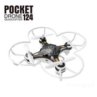 rc uav - Drone Quadrocopter FQ777 Pocket Drone CH Axis Gyro Quadcopter With Switchable Controller RTF UAV RC Helicopter Mini Drone
