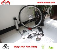 bike motor kit - W A Electric Bicycle DC Brushless Motor E Bike Kits with V A Bottle Shape Lithium Battery
