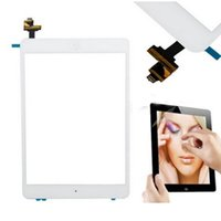 Wholesale For Apple iPad Mini Touch Panel Screen Glass Brand New Digitizer Touch Screen with IC Connector Home Flex Assembly Replacement Free DHL
