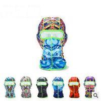 hat boxes - 9 colors New Toe Box Dropshipping Unisex Full Face Mask Cover Hat Cap Neck Guard Ski Cycling Balaclava Headwear mask LJJC1249