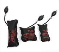 air wedge - KLOM black Air Pump Wedge Inflatable Unlock Vehicle Lock Picks Tool Black S M L U locksmith tools