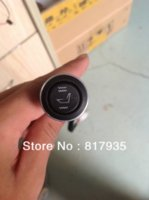 auto heating systems - seats installed new arrival sytle round switch high off low function carbon fibre auto seat heating system
