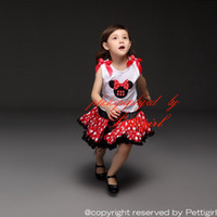Wholesale Pettigirl Fashion New Girls Tutu Sets Top Vest And Dot Skirt For Girl Kids Clothes TD30811