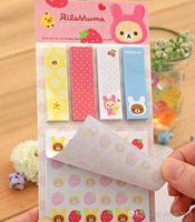 Wholesale 2016 cute post it sticky notes stickers kawaii paper notes notepad animal stationery for children students office supplier Scrapbook