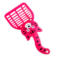 Wholesale CLOS Pink Cat Pattern Plastic Pet Dog Cats Litter Scoop
