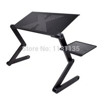 laptop desk - 360 Degree Adjustable Foldable Laptop Notebook PC Desk Table Vented Stand Bed Sofa Tray