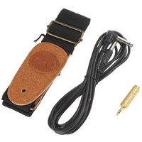 Wholesale 3Pcs Set good quality Conversation Head Cable Straps Electric Guitar Accessories Kits MIA_240