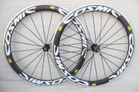 Wholesale Powerway R36 Hub alloy brake carbon wheels mm aluminum braking road bike carbon wheelset C more colors