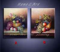 beautiful fruits pictures - 100 hand painted Canvas Art Beautiful classical fruit still life Painting Morden Home Decoration Wall Oil painting Picture