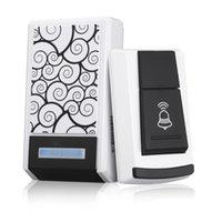 Wholesale 36 Tunes Wireless M Range Remote Control Security Door Bell Waterproof Smart LED Doorbell