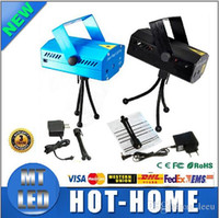 Wholesale X20 DHL MW Mini Red Green Moving Party Laser Stage Light laser DJ party light Twinkle V Hz With Tripod