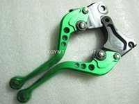 Cheap Clutch Levers for Yamaha Yz Wr 80 125 250 400 Clutch Lever Short Long 8 color Option XH-LS3536