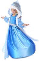 Cheap Girls Christmas Frozen Dress Elsa & Anna Autumn Princess Brand Children Costumes Dress Best Quality Best Christams Gift DHL Free 50pcs