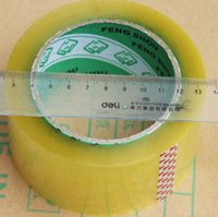 Wholesale rolls Mil quot x Yards Packing Tape Adhesive Tape Film Paper Adhesive Strapping Gift Ribbon Office Adhesive Tape
