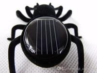 Wholesale Solar Spider Educational Toys for Children Plastics Solar Powered Energy Kids Toys Novelty