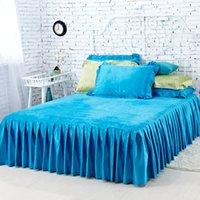 Cheap Fitted Sheet Best Peacock Blue Bedding