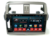 automobile audio systems - Quad Core Car DVD Video Audio Player Navigation System Toyota Prado Automobile Electronics