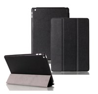 Wholesale For iPad Air Tri Folding Slim Folio Magnetic Protective Smart Book Cover Case Black Auto Sleep Wake