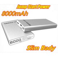 Wholesale Mini Portable mAh Silm Bady Jump Starter Car Emergency Battery Auto Power Bank Charger for Car