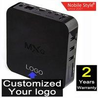 smart tv - Customized years warranty Google Smart Android TV box Boxes IPTV MXQ Kodi Blackbox Amlogic S805 Quad Core Nobile Style