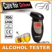 alcohol business - Best Selling KeyChain Alcohol Tester Business Gift Digital LCD Display Alcohol tester Breathalyzer Factory Drive Safety
