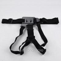 Wholesale Elastic Adjustable Fixture Holding Strap Chest Strap Mount Harness For GoPro Hero black XSY0037