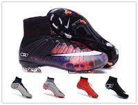 shoes soccer - Nike Men s Mercurial Superfly FG Soccer Boots CR7 Cleats Laser Men shoes Soccer Shoes Football Shoes