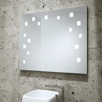 bathroom frameless mirror - IP44 CE Frameless Bathroom LED Mirror Daphne