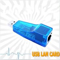 Wholesale 10pcs external USB Mbps Ethernet LAN card Network RJ45 Adapter
