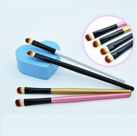 angled eyebrow brush - Fashion Super Soft Professional Oblique Makeup Eyebrow Brush Eyeshadow Blending Angled Brush Make up Tool PC