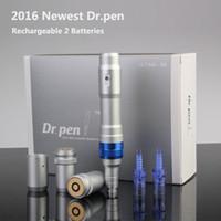 battery rejuvenation - New Skin rejuvenation vibration derma pen needle vertical movement Dr pen Ultima A6 with Rechargeable batteries