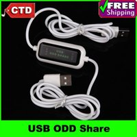Cheap USB 2.0 ODD (Optical Disc Drive) Share Cable CD DVD ROM Share Device,