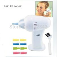 Wholesale Big Clearance Ear Cleaner Russian White color with Silicone Nozzles Brush ear cleaner earwax Electronic