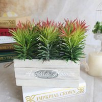 artificial pine branches - 1pcs Artificial fleshiness Cactus pine needle Succulent plant microlandschaft decorative flower home Balcony decoration