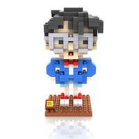 best conan - LOZ Big gift box Conan block Best Gift For kids LOZ Diamond Blocks Loz d Blocks Toys birthday for boys girls