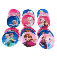 Wholesale Coin Purses Frozen bags Cartoon Wallets Holders Plush Purse Fashion purse agift for Women Girls Key bag headset bags Hot sale