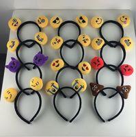 Wholesale Hot sale emoji Girls Hair Clasp Cute Lovely QQ Hair Bands design Hair Sticks A