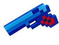 christmas toys - Christmas gift Minecraft my world EVA foam diamonds gun handgun firearm handarm weapon Pickaxe sword toy games For boy children kids New