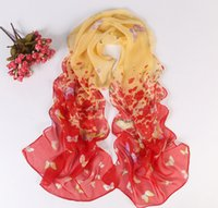butterfly scarf silk - 2015 Fashion women summer spring Accessories scarf pashmina butterfly shawl cape silk chiffon tippet muffler JIA303