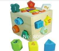 bear gift box toys - Bear Intelligence Box Puzzle Game Funny Toy Colorful Educational Wooden Toy Christmas Gift ZWZ080