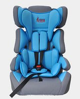 Wholesale Fast Delivery Baby Car Seat Kid Car Safety Seat Portable Infant Heighten Chair Adjustable Booster Breathable Cloth Seat Colors