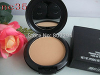 compact powder makeup - 1PCs Brand MC Makeup Studio Fix Powder cake Plus Foundation compact foundat face powder puffs g