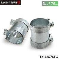 Wholesale TANSKY High Quality mm O D quot Exhaust Connector Coupler Heavy Duty Adapter Pipe Turbo Joiner TK LJG76TG