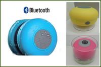 Doccia IPX4 altoparlante subwoofer portatile impermeabile Bluetooth Wireless Mini Car Handsfree Ricevi chiamata Musica aspirazione altoparlanti del telefono