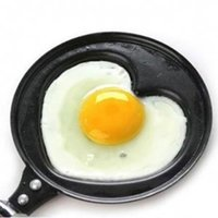 Wholesale Mini Shaped Egg Fry Frying Pan Cook pan Non Stick have Pot Lids Various Egg Frying Pancakes Kitchen Pan Housewares Cauldron