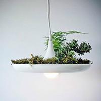 aluminum soil - LED E27 CM Led Aluminum Droplight Nordic Creative Contracted Sky Garden Lamps And Lanterns Led Light No Soil Plant