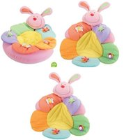 baby rabbit nest - rabbit Promotion ELC Blossom Farm Sit Me Up Cosy Baby Seat Play MatPlay Nest Sofa Infant Bed Inflatable baby game pad carpet GE