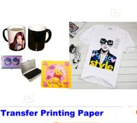 Wholesale 100pcs Heat Transfer Printing Paper A4 Sublimation transfer paper CM