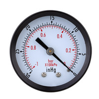 Wholesale High Quality Mini Dial Air Vacuum Pressure Gauge Meter Stable Performance Pressure Gage Great Double Scale Vacuum Manometer