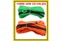 Wholesale MM M Strand UHMWPE Synthetic Braid Winch Cord With Thimble for ATV UTV SUV X4 WD OFF ROAD BOAT
